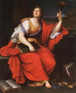 """Pierre Mignard, """"Clio"""" (1689)"""