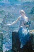 "Edward Robert Hughes, ""The Valkyrie's Vigil"" (bf. 1915)"