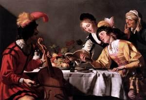 """Gerrit van Honthorst, """"The Concert"""" (1630)"""