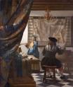 Jan Vermeer, The Art of Painting (1666)