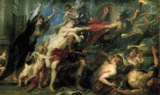 """Peter Paul Rubens, """"The consequences of War"""" (1638)"""